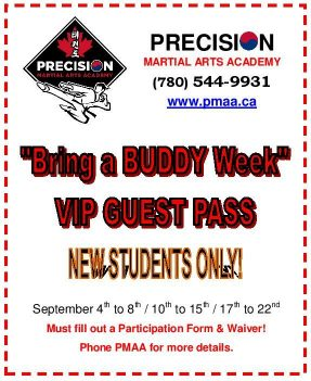 Bring a Buddy Week
