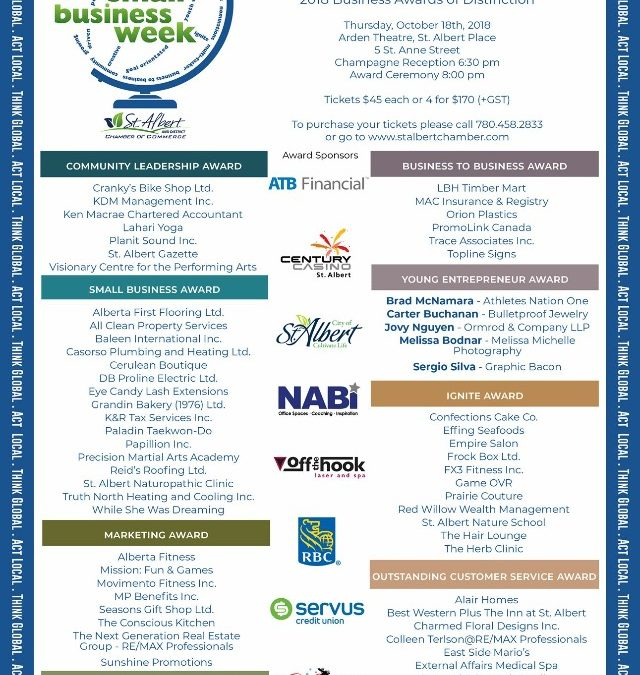 Nominated for Small Business Distinction Award