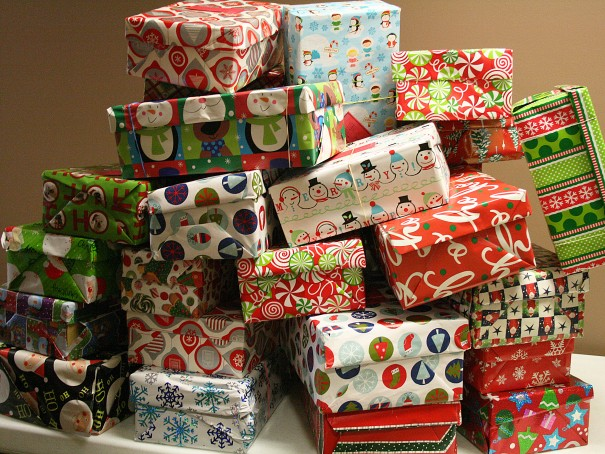 Christmas Shoeboxes of Love